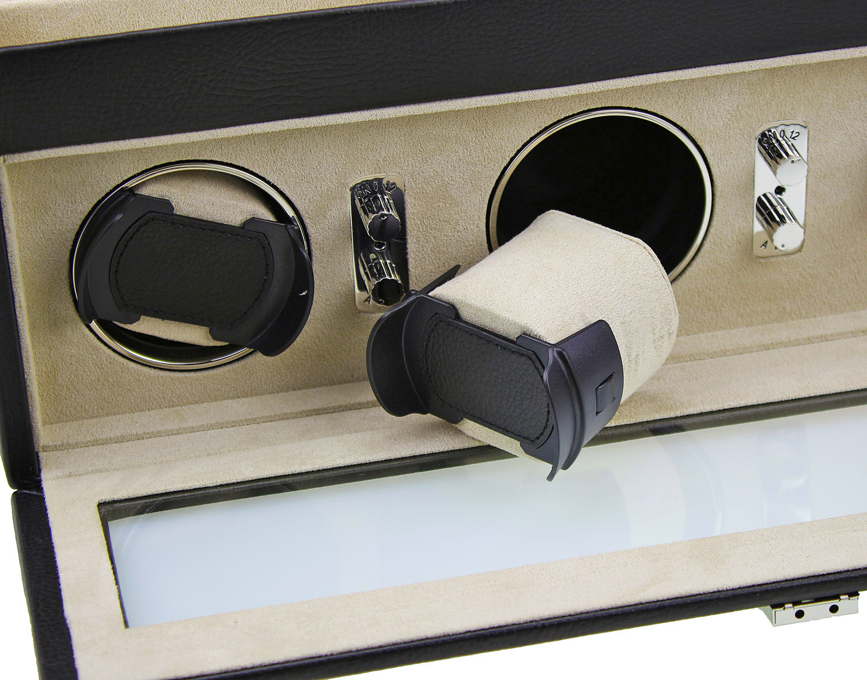 uhrenbeweger f r automatikuhren by dulwich designs perfekt f r gro uhren ebay. Black Bedroom Furniture Sets. Home Design Ideas