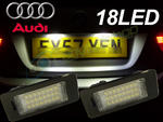 View Item 24 Smd LED Rear Number Licence Plate Units Spare Part Replacement Audi Q5 2008+