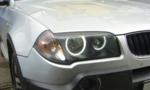 View Item BMW X3 CCFL ANGEL EYE KIT 6000K UK FAST DELIVERY