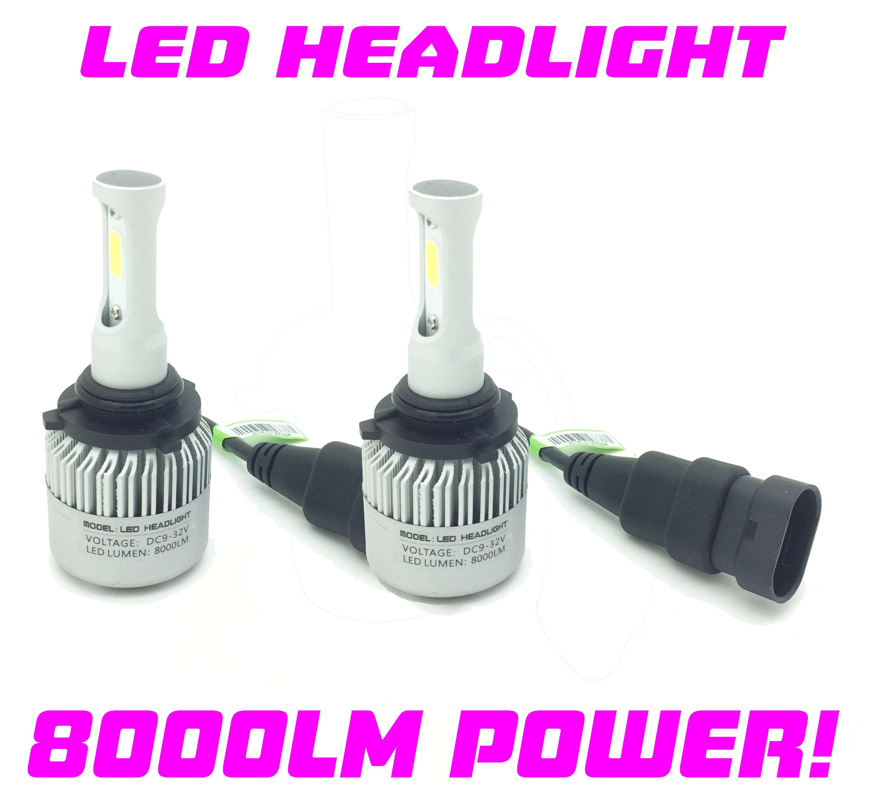 Vauxhall Zafira Tourer H1r1 9012 Cob Led Headlight Bulbs