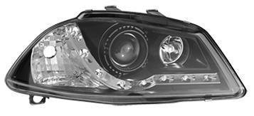 View Item Seat Ibiza and Cordoba 02-08 Black DRL Projector headlights