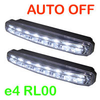 View Item 15CM 8 LED DAYTIME RUNNING DRL LIGHTS WITH AUTO OFF SWITCH