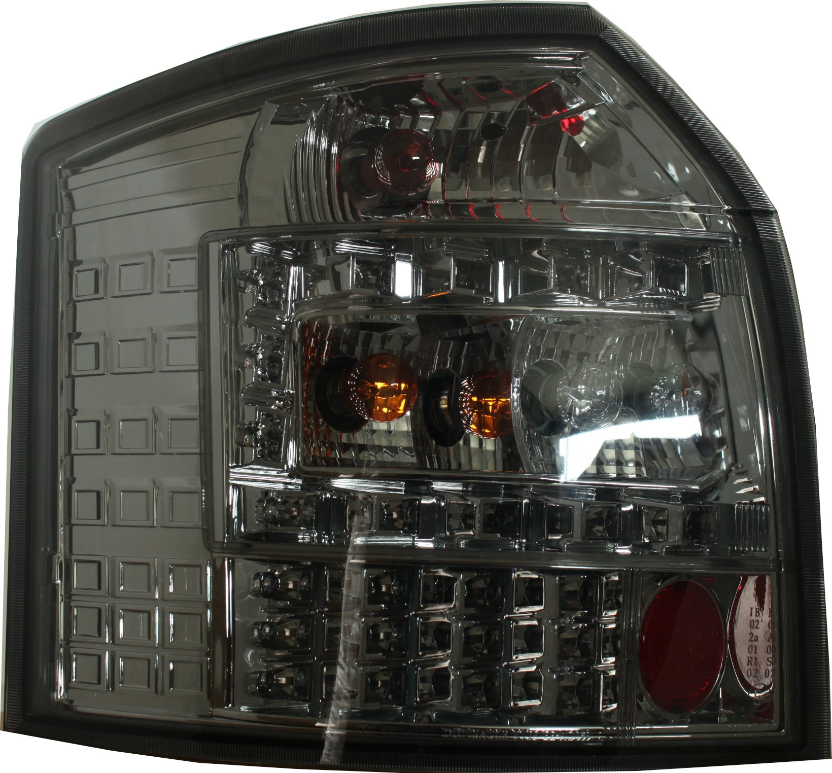 Back Rear Tail Lights Lamps LED Smoke For Audi A4 B6 Avant
