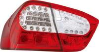 View Item Back Rear Tail Lights for BMW E90 (saloon, 12/04-08/09), in red-clear with LED pair
