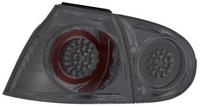 View Item Back Rear Tail Lights for VW Golf V, in black, with LED pair