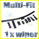 View Item AERO FLAT WIPER BLADE - MULTI FIT - SIDE PIN PINCH TAB ETC.. ALL SIZES