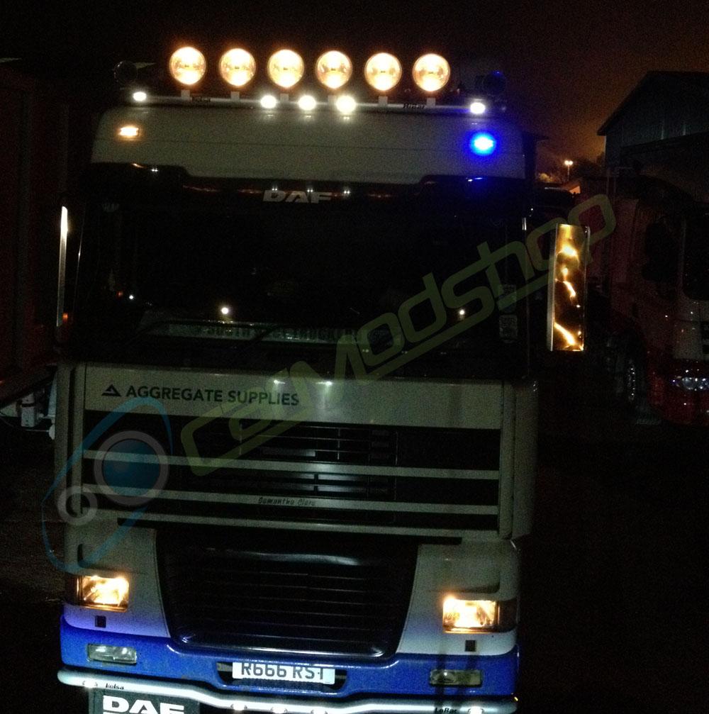 24v Led 36mm Festoon Bulb Lighting Lamp 274 Truck Lorry Interior Top Marker Ebay