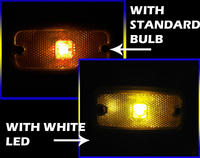 View Item AMBER 24V High Power LED BA9s/249/233 bulb SIDE MARKER/POSITION LIGHT