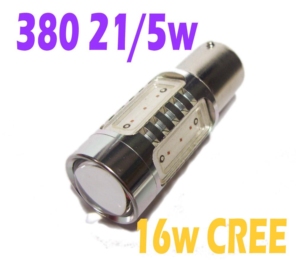 pair red 1156 380 ba15d 21w 5w 16w cree q5 12v 24v high power led bulbs ebay. Black Bedroom Furniture Sets. Home Design Ideas