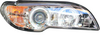 View Item BMW 3 SERIES E46 2D 03-05 ANGEL EYE BLACK PROJECTOR HEADLIGHTS
