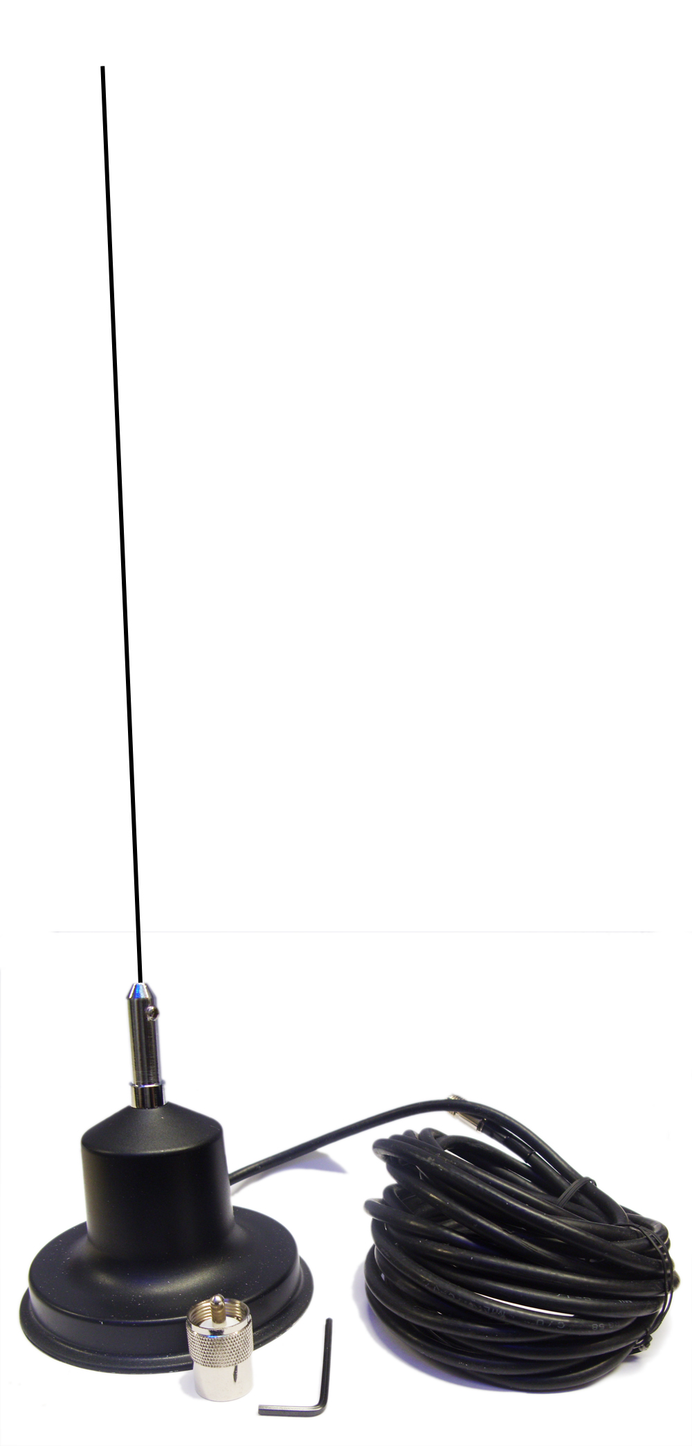Magnetic Mount Cb Radio Antenna Ariel Mag With Mast Whip