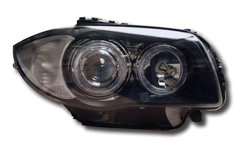 BMW 1-Series (04-) Black Halo Headlights