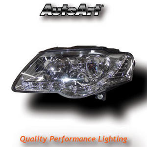 VW Passat 3C (05-10) DRL Headlight - Chrome