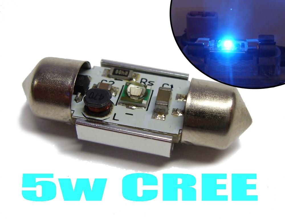 Blanc 31mm 5w cree led ampoule habitacle de rechange for Systeme interieur 2000