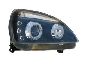 RENAULT CLIO 01-05 ANGEL EYES HEADLIGHTS - BLACK