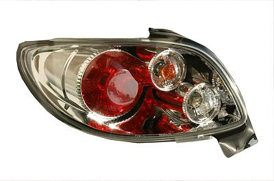 peugeot 206 cc cabrio 00-6/03 chrome lexus rear lights | ebay