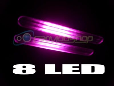 PINK 8 LED INTERIOR BULB VW BEETLE CLASSIC & NEW