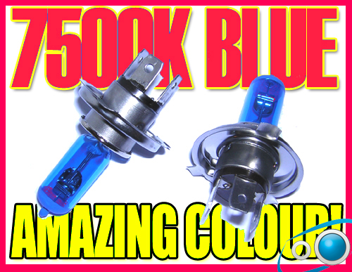 H4 7500K XENON HEADLIGHT BULBS CHRYSLER NEW YORKER