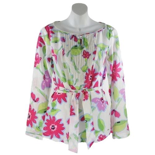 Tommy Hilfiger Floral Top (Size 8)