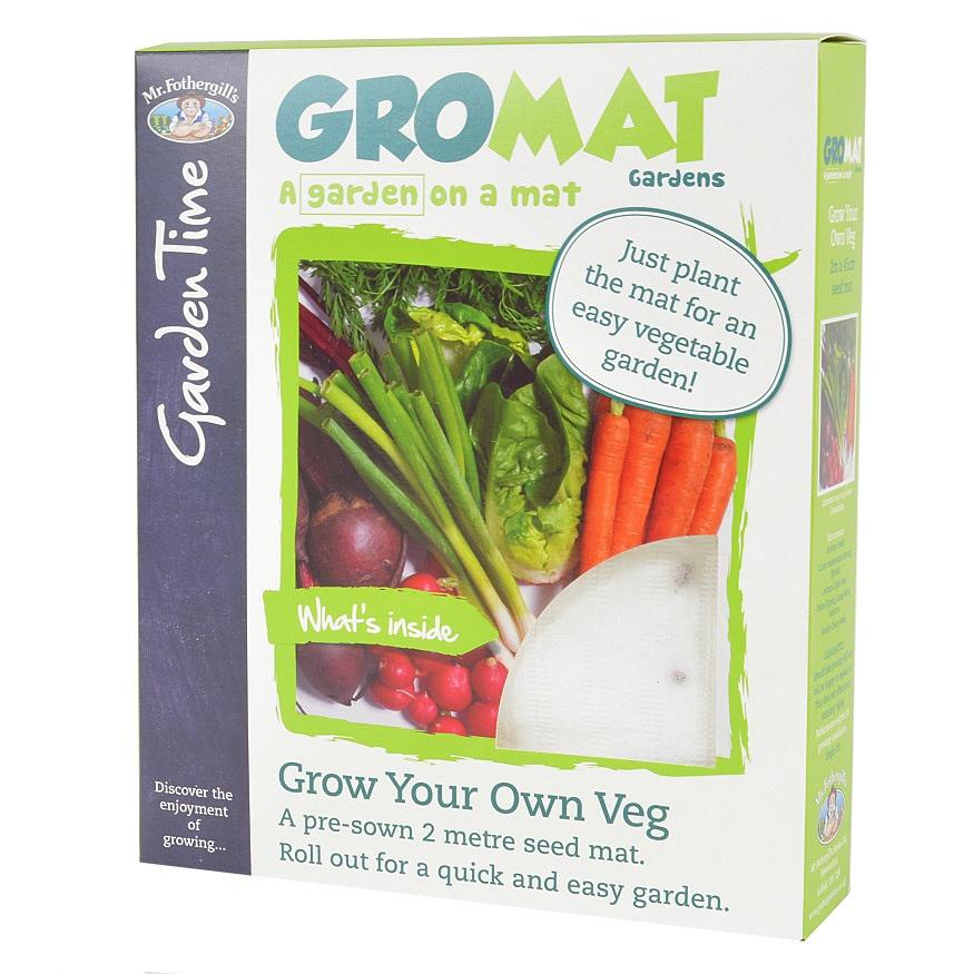 Mr fothergills gromat gardens grow your own vegetables for Grow your own vegetables