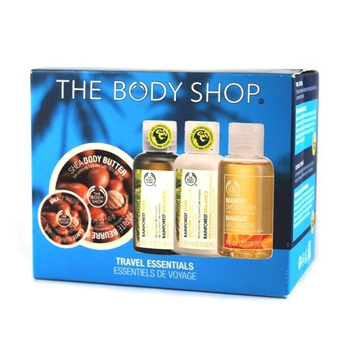 THE BODY SHOP TRAVEL ESSENTIAL SET