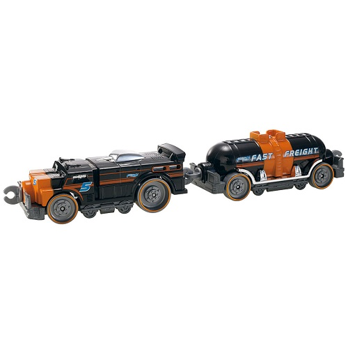 Hot Wheels Rapid Track Connectible Fast Freight Carriages (V0144)