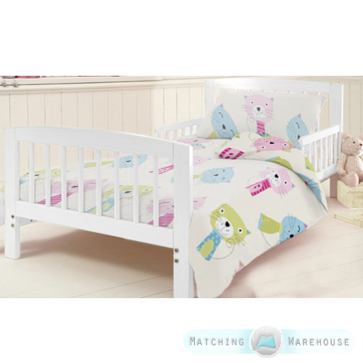 Children S Cot Bed Duvet Covers: Childrens Junior Cotbed Bed Duvet Cover & Pillowcase