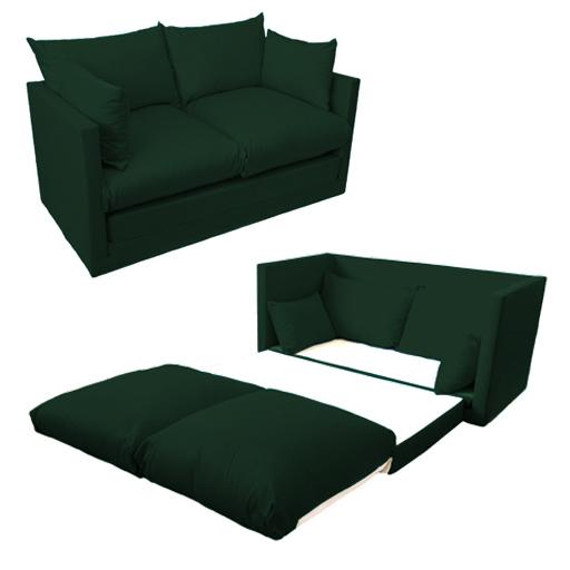 ausklappbar 2 sitz sofa g stebett futon made in uk g nstiger studio m bel ebay. Black Bedroom Furniture Sets. Home Design Ideas