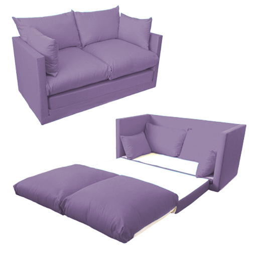 Fold Out 2 Seat Sofa Guest Bed Futon Uk Made Budget Studio
