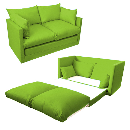 Attractive Fold Out 2 Seat Sofa Guest Bed Futon