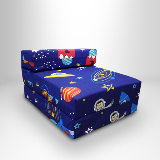 Kids Character Foam Fold Out Sleep Over Guest Single Futon  : ZBS20PK20Spaceboy from www.ebay.co.uk size 512 x 512 jpeg 138kB