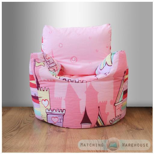 Childrens Character Filled Beanbag Kids Bean Bag Chair Seat Bedroom Play TV Room