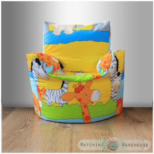 kinder charakter gefüllte sitzsäcke sitz stuhl kinderzimmer tv