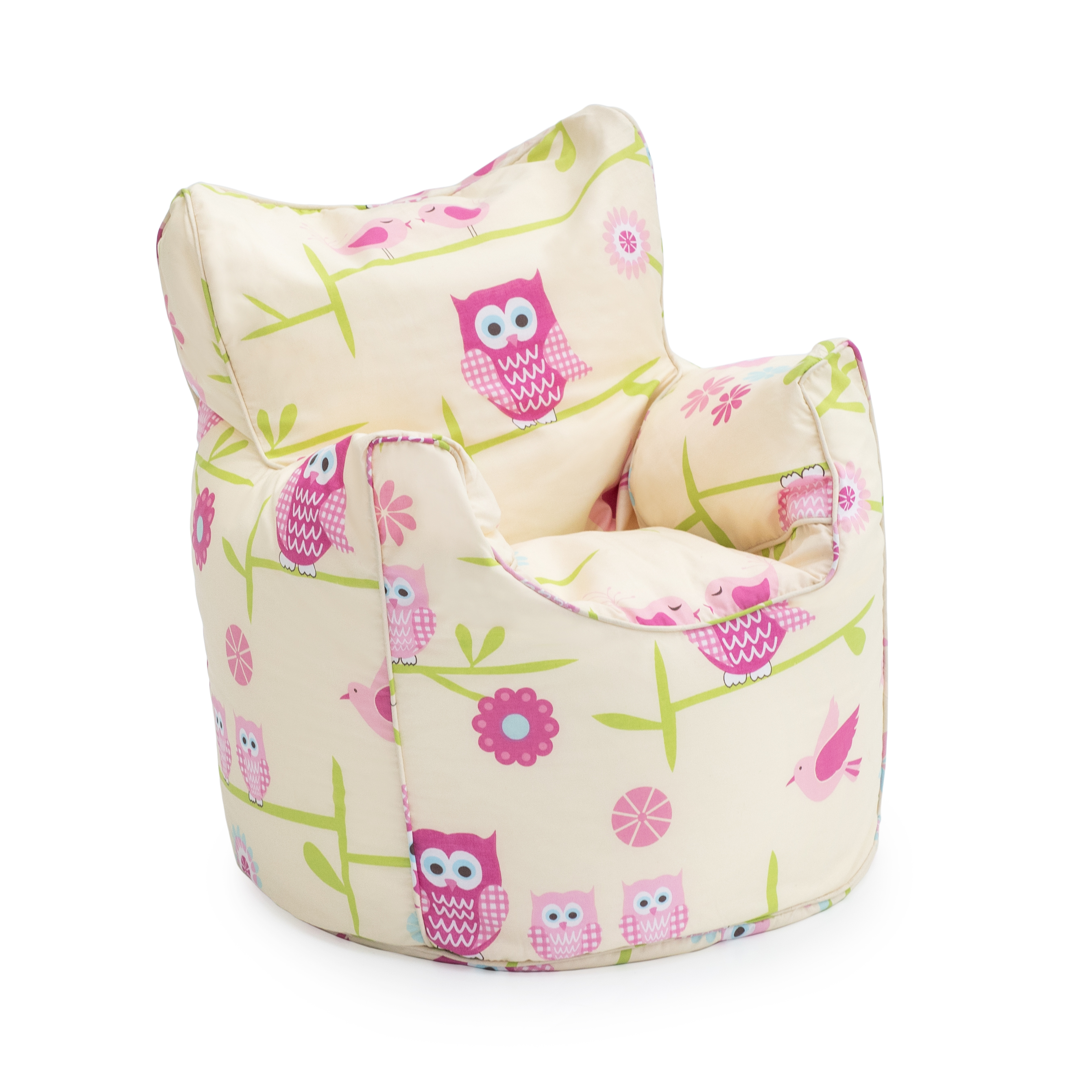 Character Bean Bag Chairs Childrens Filled Beanbag Kids Chair