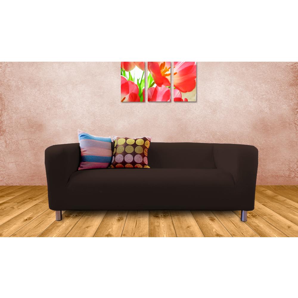 Bespoke Custom Made Slip Covers To Fit The Ikea Klippan 2 Seater Sofa Throw Ebay