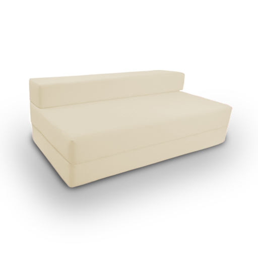 Cotton Twill Z Bed Double Size Fold Out Chairbed Chair Foam Folding Guest Sof