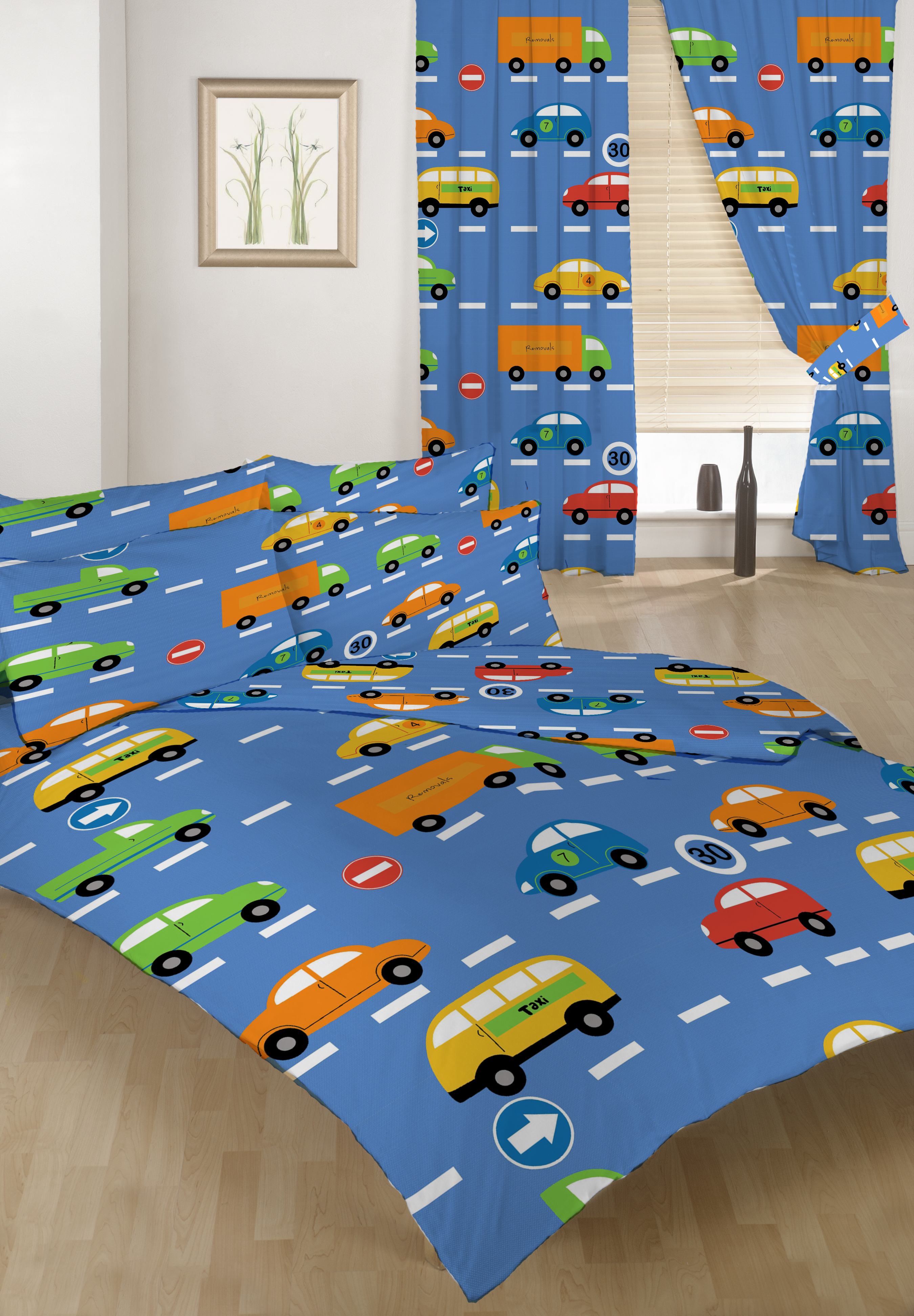 doppelbett bettw schegarnitur set verkehr express jungen cars 2 kissenbezug ebay. Black Bedroom Furniture Sets. Home Design Ideas