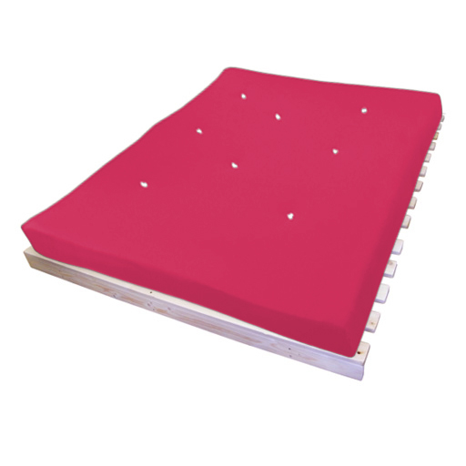 canap lit 3 places lit d 39 appoint rose budget matelas triple futon coton ebay. Black Bedroom Furniture Sets. Home Design Ideas
