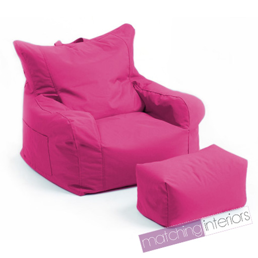 rose budget pouf poire chaise echelle tabouret joueur fauteuil jardin beanbag ebay. Black Bedroom Furniture Sets. Home Design Ideas