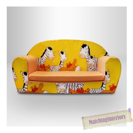 Z bre animaux pour enfants confort doux double mousse divan petits chaise si - Canape mousse enfant ...