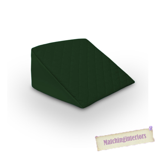 gr n lehne gesteppt orthop disch bett keil back support hilfe abzubauen kissen ebay. Black Bedroom Furniture Sets. Home Design Ideas