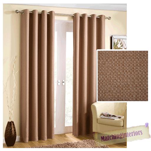 beige panier tiss r duction de la lumi re illet rideaux anneau pr t emploi. Black Bedroom Furniture Sets. Home Design Ideas