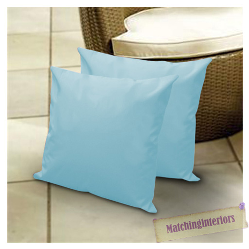 Aqua 18 Water Resistant Outdoor Scatter Cushion Covers