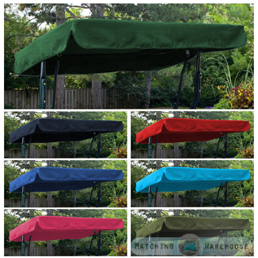 Replacement Canopy For Backyard Swing : Replacement Canopy for Swing Seat Garden Hammock 2 & 3 Seater Sizes
