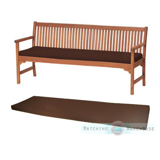 Outdoor Waterproof 4 Seater Bench Swing Seat Cushion  Part 25