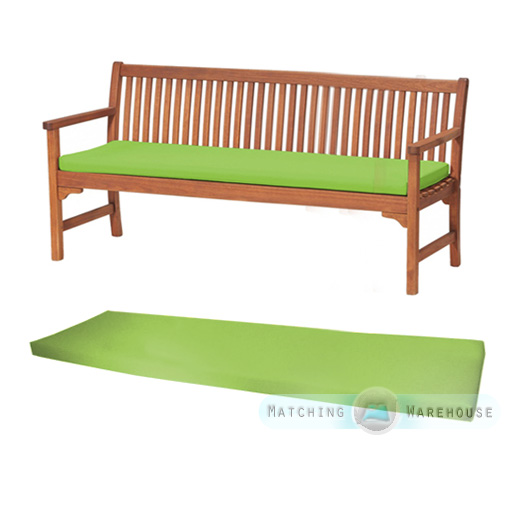 Outdoor waterproof 4 seater bench swing seat cushion for Outdoor furniture 4 seater