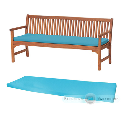 Outdoor Waterproof 4 Seater Bench Swing Seat Cushion