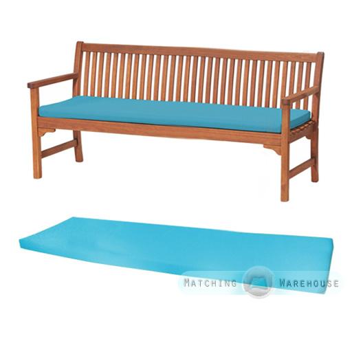 Outdoor Waterproof 4 Seater Bench Swing Seat Cushion