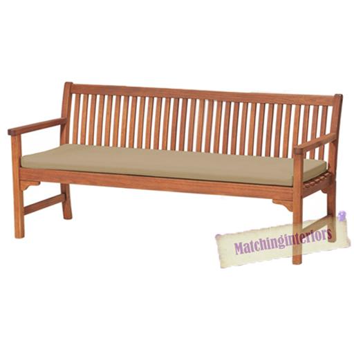 Stone 4 Seater Bench Swing Garden Seat Pad Floor Cushion Outdoor Water Resistant Ebay