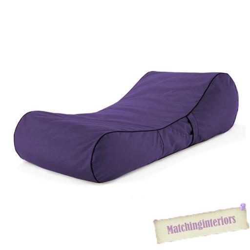 Violet r siste aux claboussure pouf poire bain de soleil chaise longue - Chaise longue en anglais ...